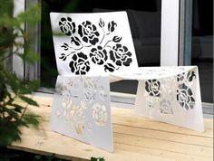 silla chair sillón sofá blanco white exterior decoración decoration miraquechulo