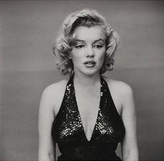 "Marilyn Monroe 6 mai 1957, New York City, ""Femme au miroir"" un portrait de Richard Avedon."