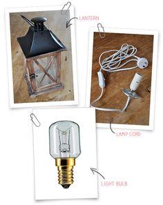 Convertir una linterna en una Lámpara | The Hive Pintado