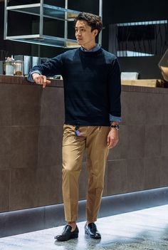 Business Casual Men, Business Fashion, Men Casual, Luxury Fashion, Mens Fashion, Fashion Outfits, Tokyo Street Style, Men Looks, Mens Clothing Styles
