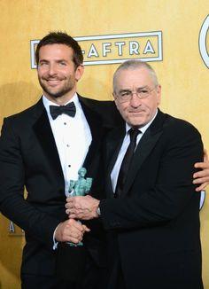 20th Annual Screen Actors Guild Awards - bradley cooper robert De Niro
