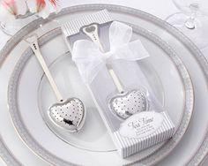 """bridal shower gift? """"Tea Time"""" Heart Tea Infuser in Elegant White Gift Box @Bridget Deborah @Michelle Flynn Margaret"""
