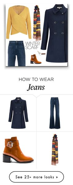 """""""The Mom Run"""" by patricia-dimmick on Polyvore featuring Miss Selfridge, The Seafarer, Jeffrey Campbell, Georg Jensen and winterscarf"""