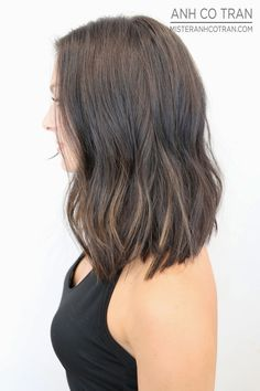 NYC: AN EXTREMELY FLATTERING CUT. Cut/Style: Anh Co Tran. Appointment inquiries please call Ramirez Tran Salon in Beverly Hills: 310.724.8167