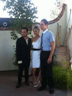 Johnny, Kaley & Jim