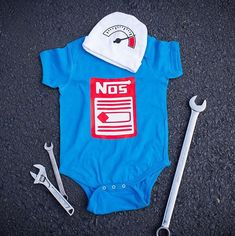 Race Car Baby Clothes Baby gift set Hat and by BuzzBearTees