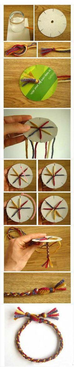 maken van een leuke armband