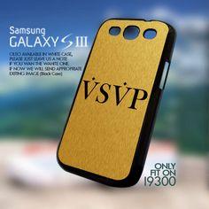 VSVP Asap Rocky Drake Trill Golden-Samsung Galaxy s3 i9300   GoToArt - Accessories on ArtFire