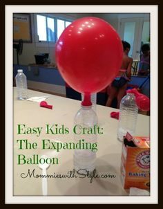 Expanding Balloons: DIY Craft for Science-Loving Kids | MommieswithStyle.com