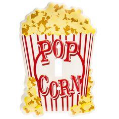 Popcorn Single Switch Plate