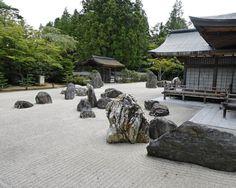 Banryutei Rock Garden: This popular Japanese rock garden is located just south… Japanese Rock Garden, Zen Rock Garden, Japanese House, Japanese Gardens, Zen Gardens, Japanese Style, Japanese Buddhism, Japan Holidays, Small Group Tours