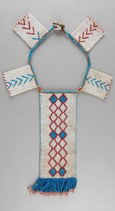 South Africa | Personal ornament; glass beads, fiber, brass buttons | ca. 1933 or earlier | Possibly made by the Xhosa (Tsolo, Eastern Cape), or (Griqualand East, KwaZulu Natal) people