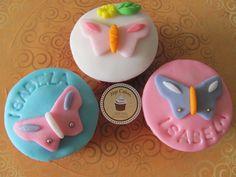 Cupcakes Top Cakes - Borboletas https://www.facebook.com/danielletopcakes