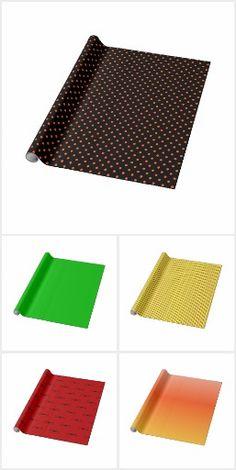 Wrapping Paper #JHDesigns #zazzleproducts #zazzleshop #wrappingpaper #gift #giftwrap #giftwrapping #polkadots #stripes #tartan #plaid #ombré #holidays #holidayseason #halloween #christmas #hanukkah #winter #seasonal #special #SpecialOccasion