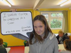 #TTBH  young adult carer says...