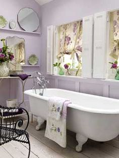 Find that perfect purple for your home with YOLO Colorhouse hues AIR .07, PETAL .07, SPROUT .07 AND CREATE .06.