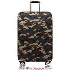 Louise Morrison Tie Dye Octopus Travel Luggage Protector Suitcase Cover Fit 18-32 Inch
