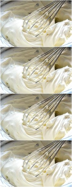 Bater todos os ingredientes em batedeira em velocidade máxima, até obter o ponto de chantilly,#receita#bolo#torta#doce#sobremesa#aniversario#pudim#mousse#pave#Cheesecake#chocolate#confeitaria# Mousse, Icing, Cheesecake, Floral, Desserts, Home, Butter Frosting, Cake Topper Banner, Pull Apart Cheese Bread