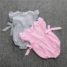 Cheap clothes china, Buy Quality clothing dance directly from China clothing material Suppliers: Newborn Baby Girl Clothes Striped bow sleeveless baby climbing clothes Romper Bebek Giyim Christmas Similar Clothing Baby Girl Romper, Baby Girl Dresses, Baby Outfits Newborn, Baby Girl Newborn, Baby Girls, Baby Boy, Outfits Niños, Kids Outfits, Cheap Outfits