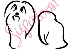 HAVANESE Decal by SUPATOON on Etsy
