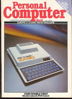 ZX80 on the cover of Personal Computer World (April 1980)