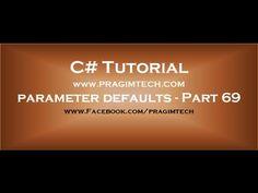 C# [Optional] parametr w metodach