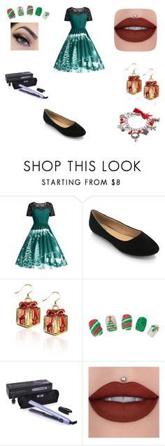 """christmas carol"" by gemma-todd-1 ❤ liked on Polyvore featuring GHD"