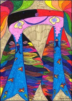 THE BEAUTIFUL PEOPLE PROJECT: April Deniz, Child Artist, Ankara, Turkey  www.thebeautifulpeopleproject.com