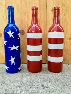of July Wine Bottles Up Cycled bottle crafts of july of July Wine Bottles Up Cycled Liquor Bottle Crafts, Recycled Wine Bottles, Painted Wine Bottles, Glass Bottles, Crafts With Bottles, Decorative Wine Bottles, Reuse Wine Bottles, Bottle Labels, Wine Bottle Design