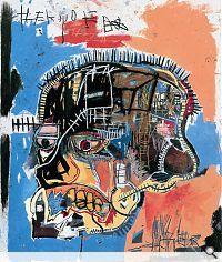 Jean-Michel Basquiat; Untitled, 1981. Acryl und Ölkreide auf Leinwand, 207 x 175.8 cm. The Eli and Edythe L. Broad Collection, Los Angeles. Foto: Douglas M. Parker Studio, Los Angeles. © 2010 Jean-Michel Basquiat / ProLitteris, Zürich