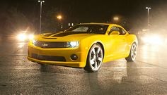 2012 Chevy Camaro | Performance Cars | Chevrolet  (I think this is the only yellow car I've ever wanted!)  ;o)