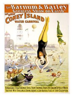Barnum and Bailey, Coney Island Giclee Print at AllPosters.com