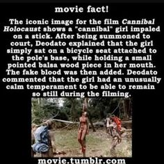 Movie Facts: Cannibal Holocaust (1980)