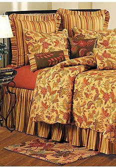 Quilted Bedspread With Attached Bed Skirt Full Queen King