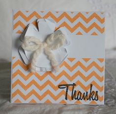 Thank You Notes Handmade 40 Cards Set Baby by CardinalBoutique, $70.00
