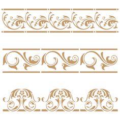 stencil decoracion y manualidades cenefa 054