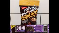 Hershey's: S'mores Crunchers and Triple Chocolate Cookie Layer Crunch Ba...