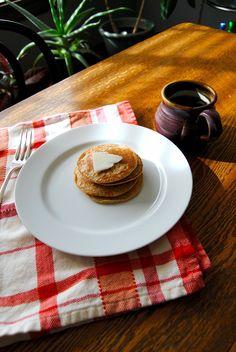 Banana-Oat Blender Pancakes | POPSUGAR Food