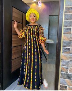 Shaffy African dress / African dress / African print dress for women / African dresses / African clothing African Print Dress Designs, African Print Dresses, African Print Fashion, Latest African Fashion Dresses, African Dresses For Women, African Attire, African Women, Ankara Mode, Ankara Gowns