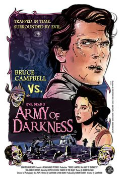 Army Of Darkness - Original Poster Illustration