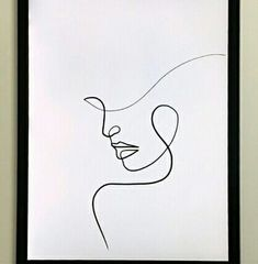 Minimalist Art 646055509032519496 - Source by Art Painting, Abstract Face Art, Sketches, Abstract Lines, Line Art Drawings, Abstract Line Art, Outline Art, Canvas Art, Minimalist Art