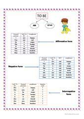 Grammar for Beginners: to be worksheet - Free ESL printable worksheets made by teachers
