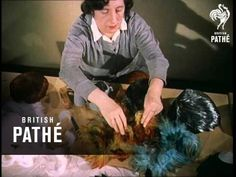 Feather Hats (1955) video - love watching this, except I want to sneeze half way through! #millinery #judithm #hats