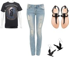 """For the love of a band - Shinedown"" by raan1103 on Polyvore"