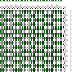 Hand Weaving Draft: Figure 114, A Manual of Weave Construction, Ivo Kastanek, 2S, 2T - Handweaving.net Hand Weaving and Draft Archive