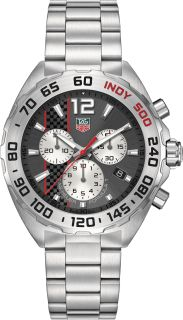 200 MTAG Heuer FORMULA 1Chronograph- SPECIAL EDITION INDY 500 -42 MM Buy or order now by calling 813-875-3935! Ask for Darren