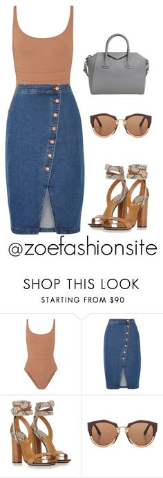"""Untitled #498"" by zoefashionsite on Polyvore featuring Eres, Madewell, Gucci, Marni and Givenchy"