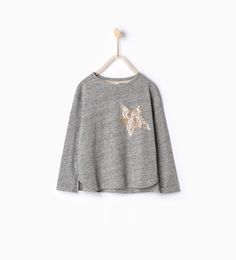ZARA - NEW IN - Sequinned star top