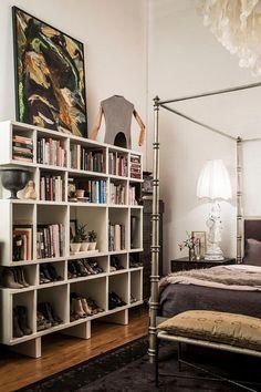 7 libros en el dormitorio Decohunter