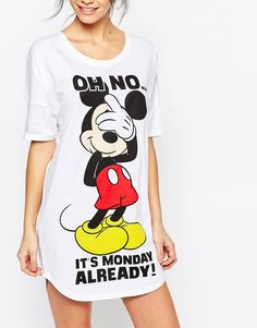 Image 3 - Missimo - Disney Mickey Mouse Monday - Chemise de nuit